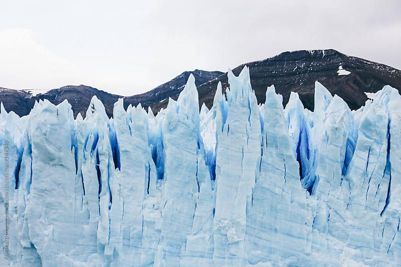 Ice wall on Perito Moreno glacier by Alejandro Moreno de Carlos for Stocksy United