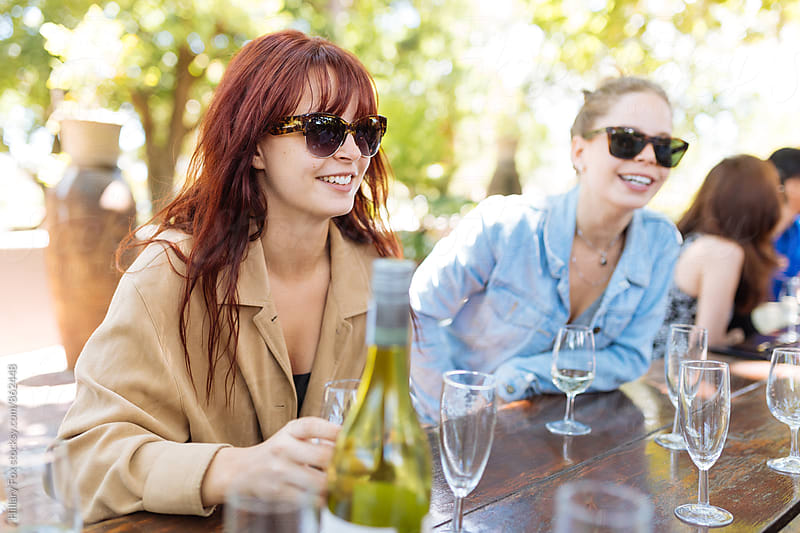 Wine Tour by Hillary Fox for Stocksy United