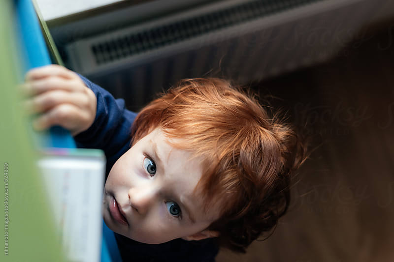 Little Curious Redhead Boy by minamoto images for Stocksy United
