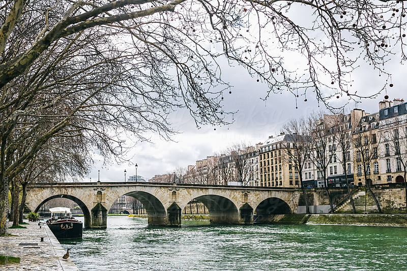 Bridge on the Seine, Paris. by michela ravasio for Stocksy United