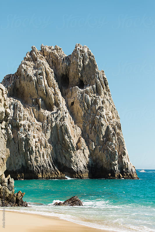 A beach landscape in Mexico by Ania Boniecka for Stocksy United