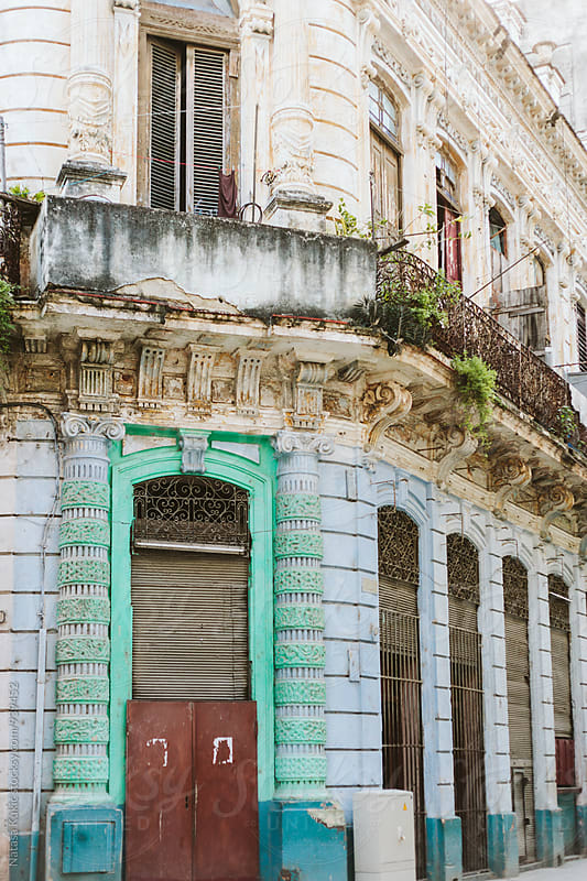 Streets of Havana by Natasa Kukic for Stocksy United
