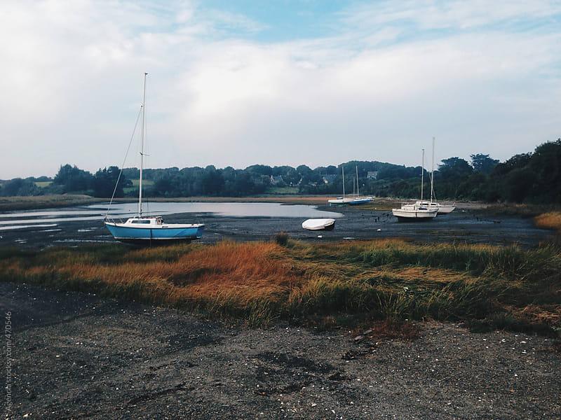 Breton Boats by Agencia for Stocksy United