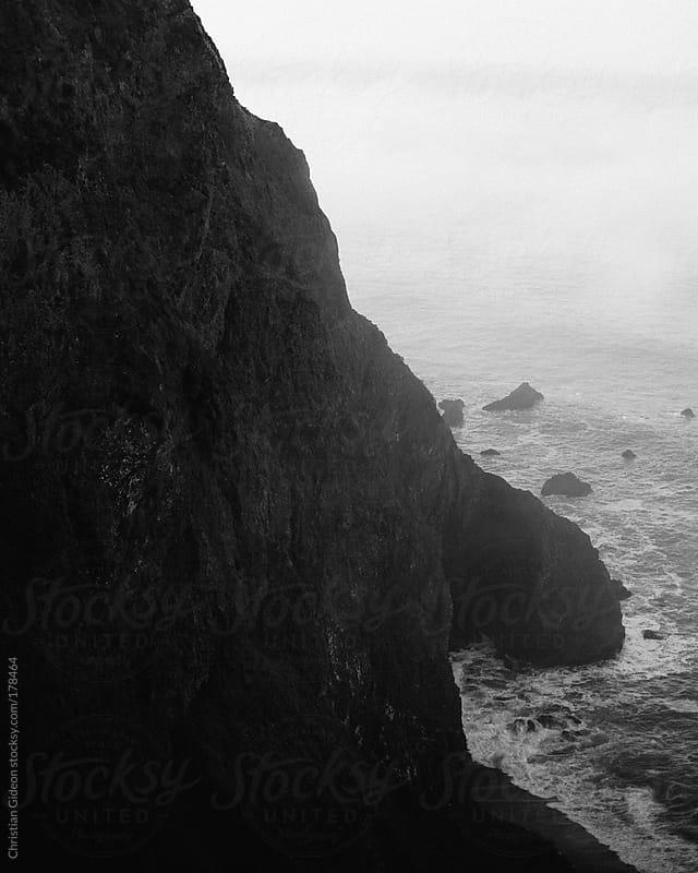 California Coastline Cliffs by Christian Gideon for Stocksy United