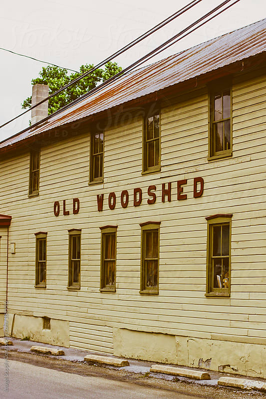 exterior of old woodshed by Image Supply Co for Stocksy United