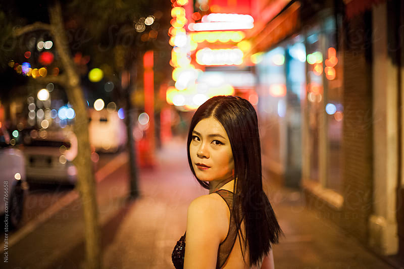 Chinatown At Night by Nick Walter for Stocksy United