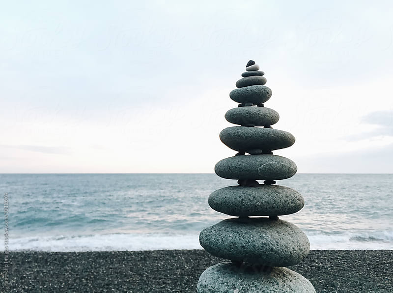 Cairn - Relax and Balance by Paperclip Images for Stocksy United