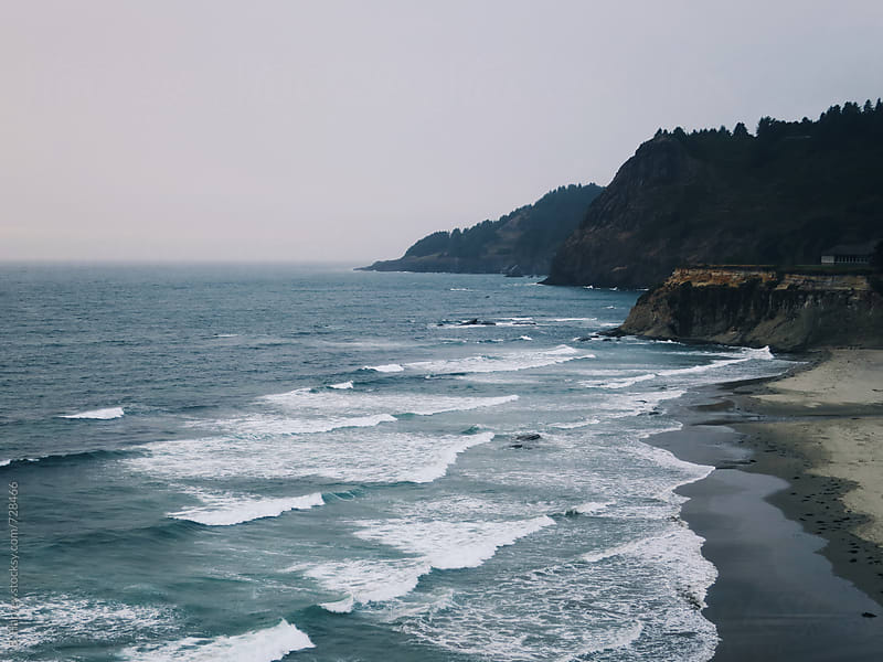 Pacific Ocean on the Oregon Coast by B. Harvey for Stocksy United