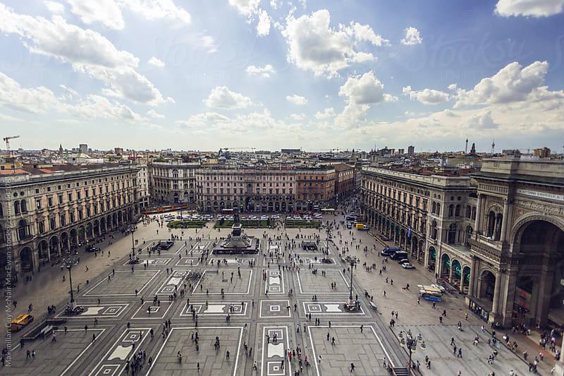 Piazza Del Duomo by Maximilian Guy McNair MacEwan for Stocksy United