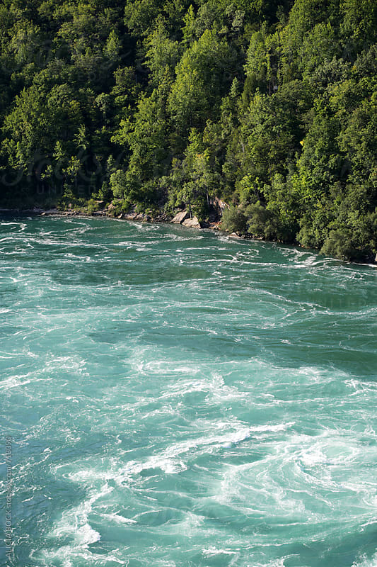 Rapids On A Fast Moving River On A Summer Afternoon by ALICIA BOCK for Stocksy United