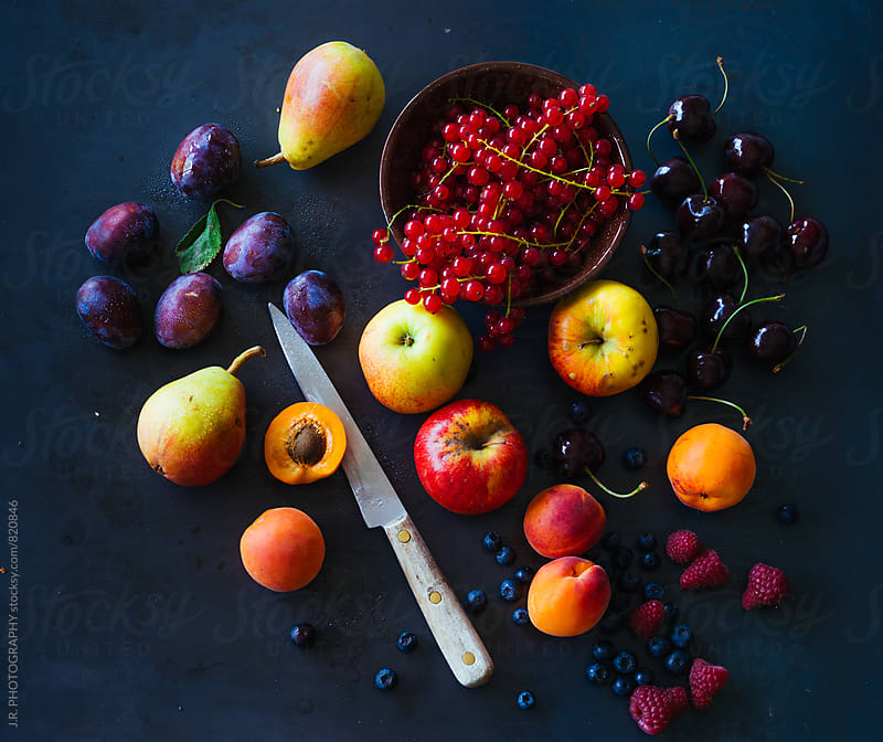Various fruit by J.R. PHOTOGRAPHY for Stocksy United