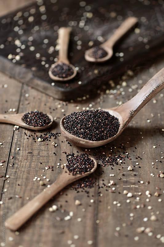black quinoa by juan moyano for Stocksy United