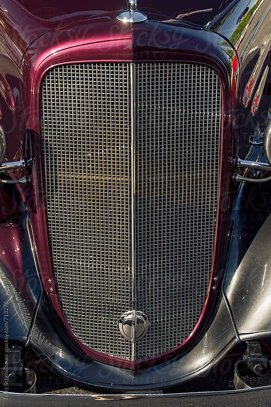 Detail of Vintage Automobile by Terry Schmidbauer for Stocksy United