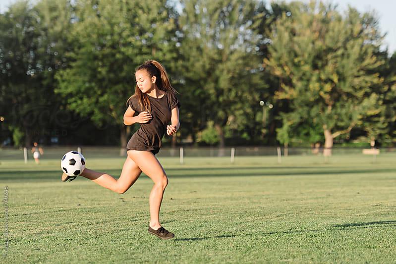 Soccer skill by Preappy for Stocksy United