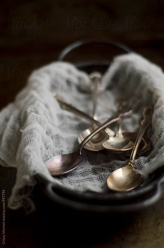 spoons by Crissy Mitchell for Stocksy United