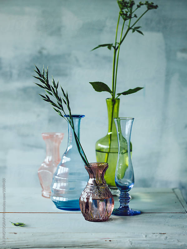 Still life of glassware  by J.R. PHOTOGRAPHY for Stocksy United