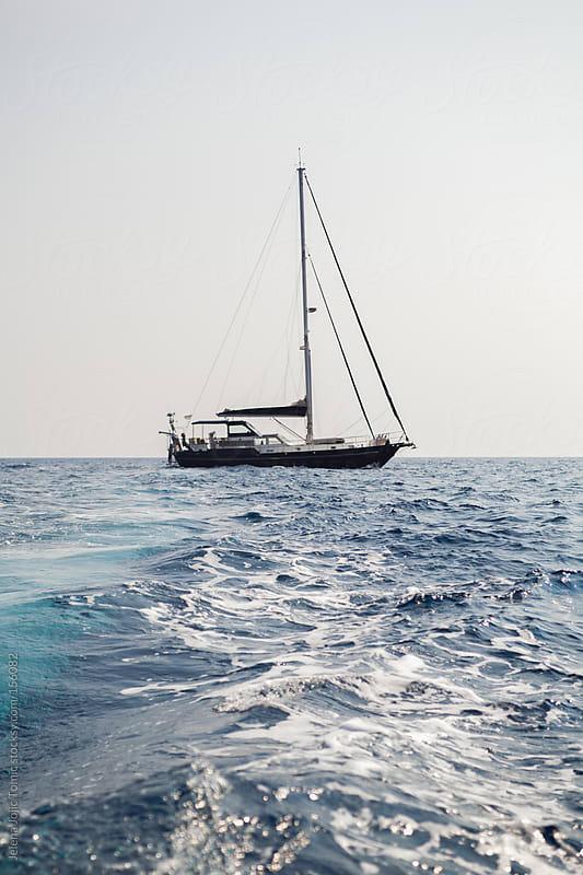 Sailing boat by Jelena Jojic Tomic for Stocksy United