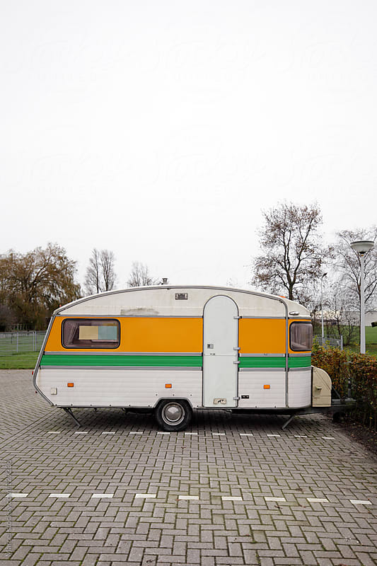 Vintage caravan by Marcel for Stocksy United