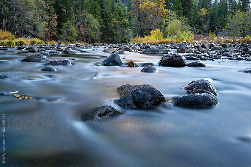 Merced River by Rob Sylvan for Stocksy United