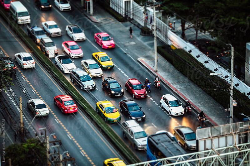 Rush Hour in Bangkok by Lumina for Stocksy United