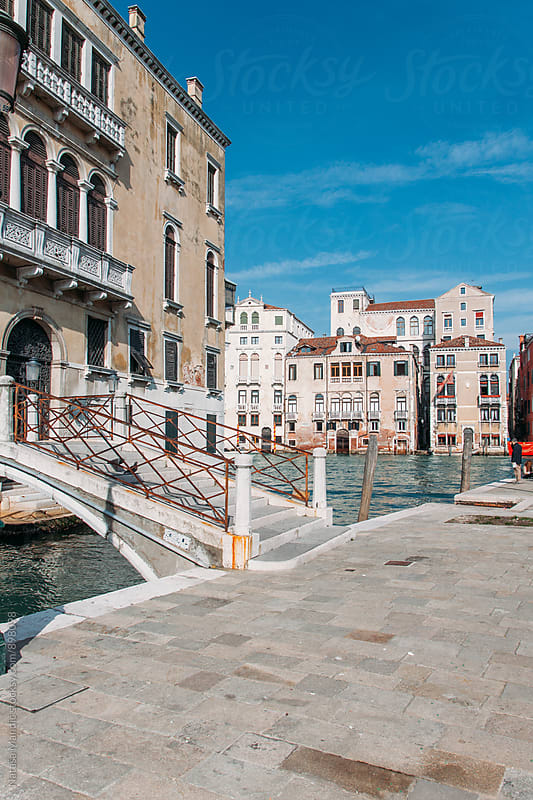 Canal in Venice  by Nataša Mandić for Stocksy United