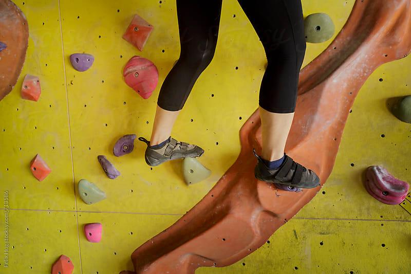 Free Climbing Training by Felix Hug for Stocksy United