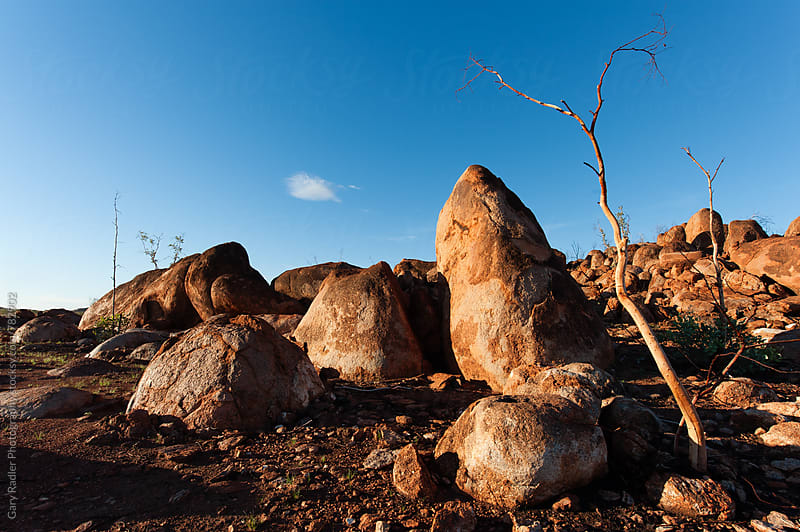 Boulders in the Australian Outback by Gary Radler Photography for Stocksy United