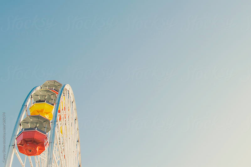 Ferris wheel by Carey Shaw for Stocksy United