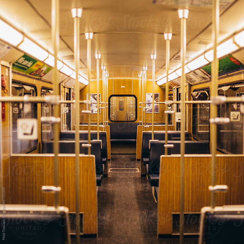 Train in Munich by Maja Topcagic for Stocksy United