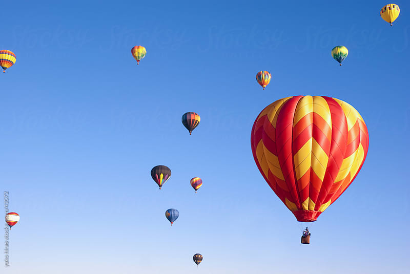 Hot air balloon festival by yuko hirao for Stocksy United