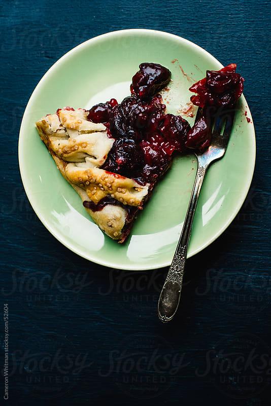 Cherry Tart Slice by Cameron Whitman for Stocksy United