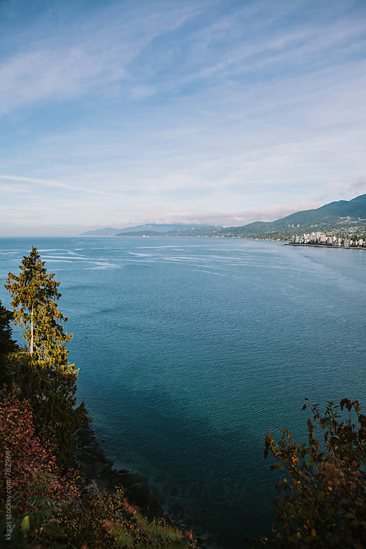 View of English Bay, from Prospect Point, Vancouver. by kkgas for Stocksy United