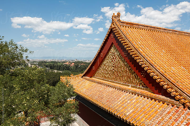 the Summer Palace, Beijing by zheng long for Stocksy United