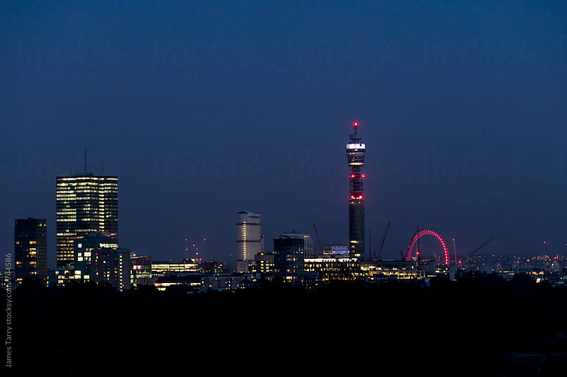 London Skyline by James Tarry for Stocksy United