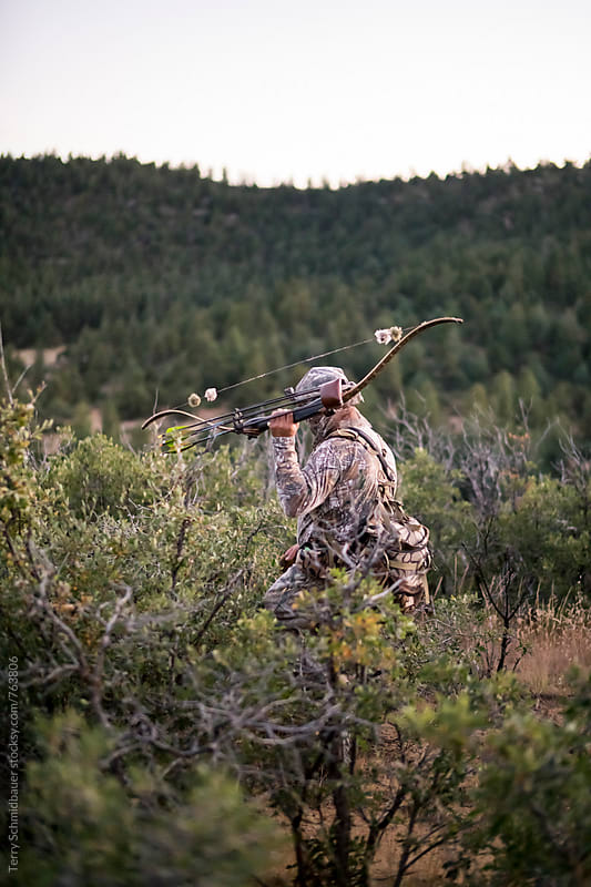 Elk Hunting in Colorado by Terry Schmidbauer for Stocksy United