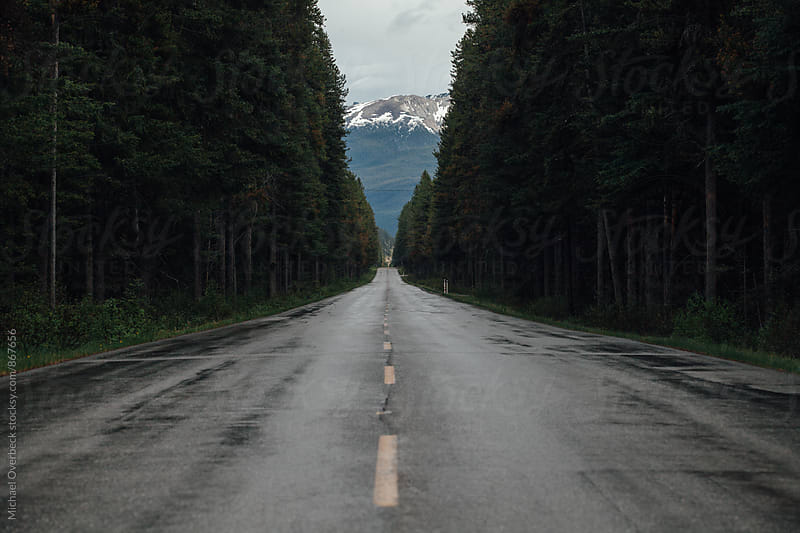 Canadian Highway by Michael Overbeck for Stocksy United
