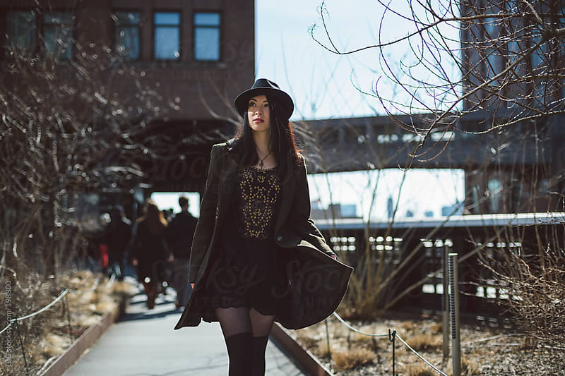 Young asian woman in the streets of New York by GIC for Stocksy United
