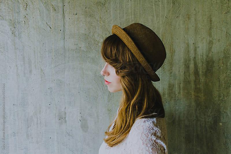 Pretty girl by Sara K Byrne Photography for Stocksy United