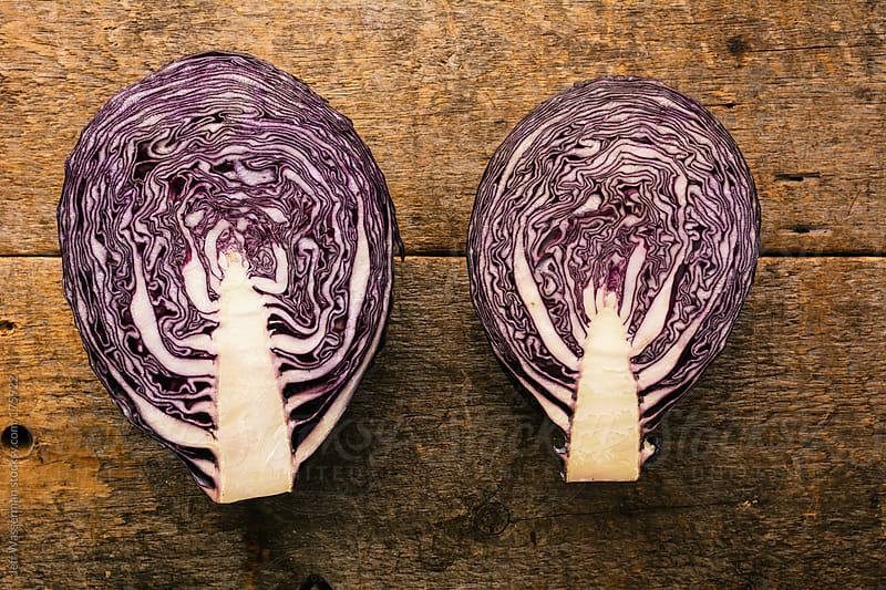 Organic Red Cabbage by Studio Six for Stocksy United