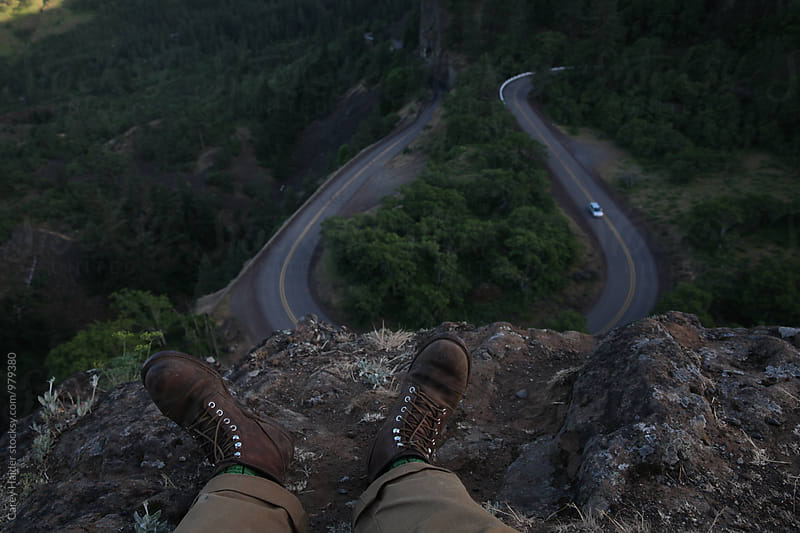 Sitting Above A Road by Carey Haider for Stocksy United