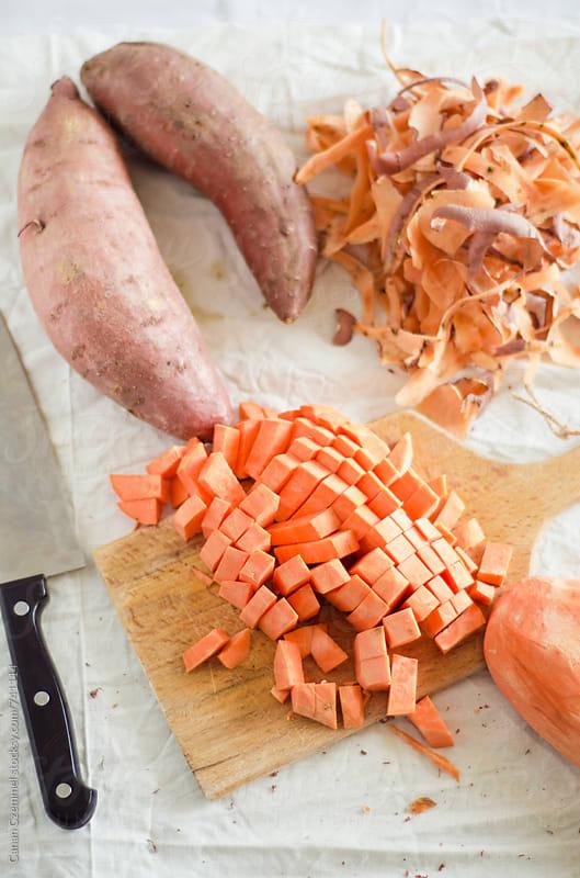 sweet potatoes   by Canan Czemmel for Stocksy United