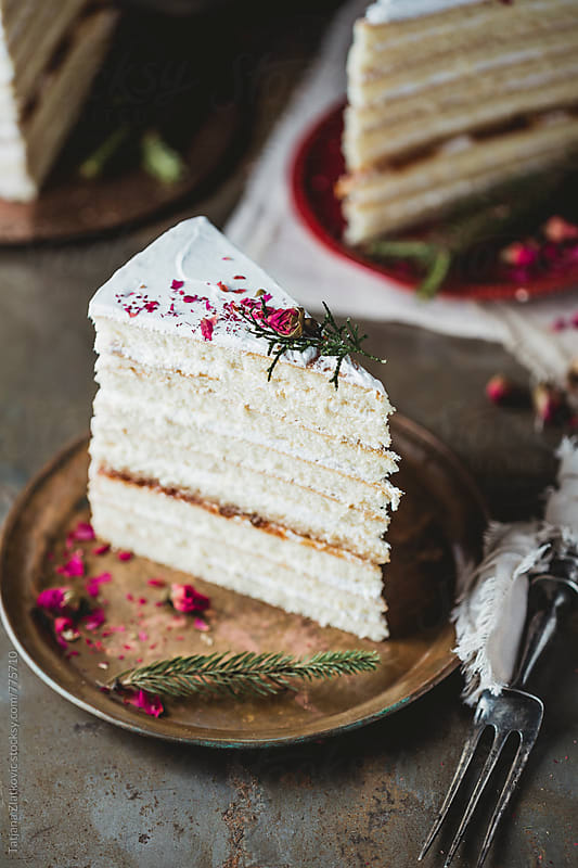Naked cake by Tatjana Zlatkovic for Stocksy United