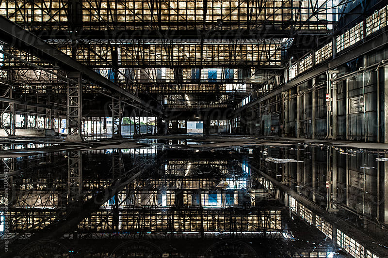 Abandoned Factory 01 by craig ferguson for Stocksy United