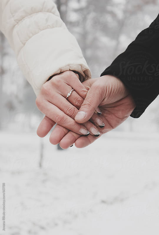 Couple Holding Hands by Jovana Rikalo for Stocksy United