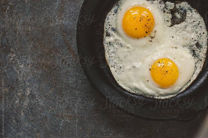 Fried Eggs by Gabriel (Gabi) Bucataru for Stocksy United
