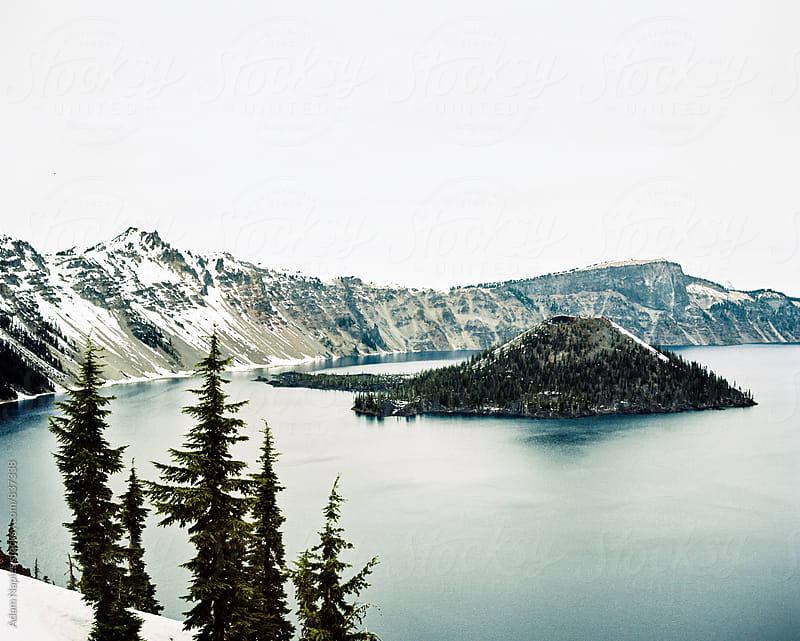 Crater Lake, National Park - Oregon by Adam Naples for Stocksy United