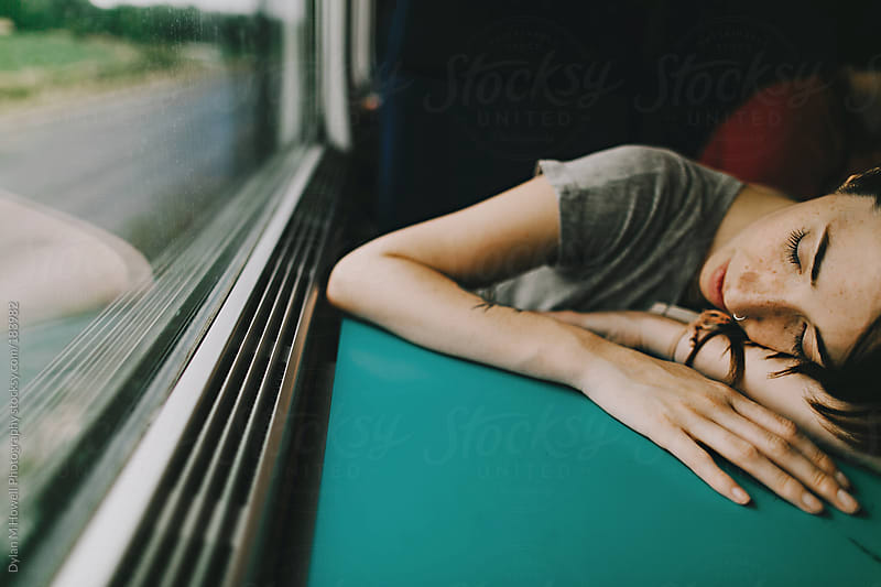Tired traveler  by Dylan M Howell Photography for Stocksy United