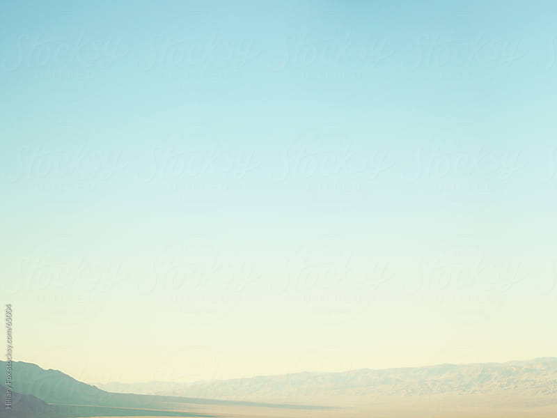Death Valley Skyline by Hillary Fox for Stocksy United
