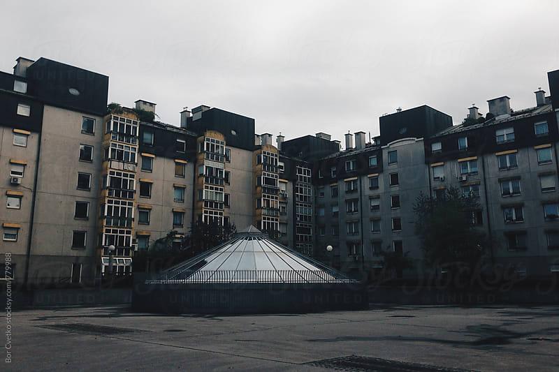 Architecture in Ljubljana, Slovenia by Bor Cvetko for Stocksy United