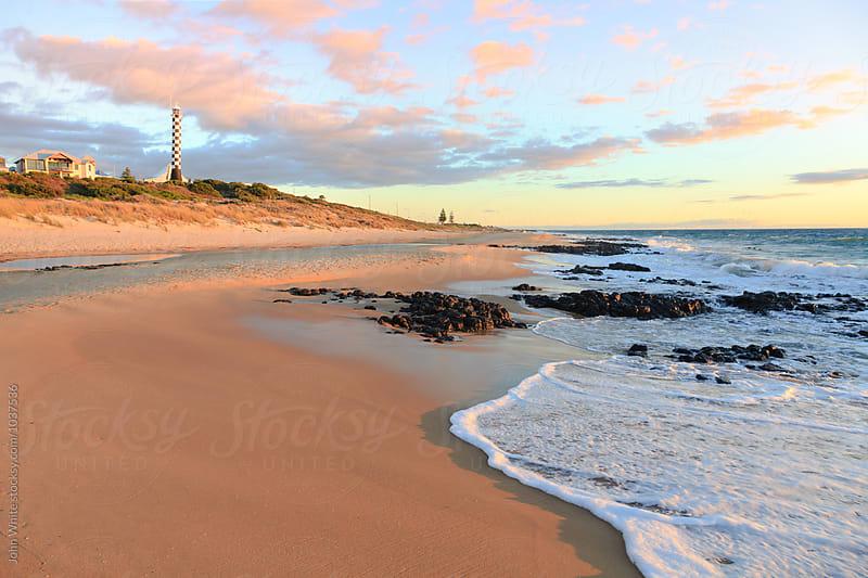 Bunbury Lighthouse. Western Australia. by John White for Stocksy United